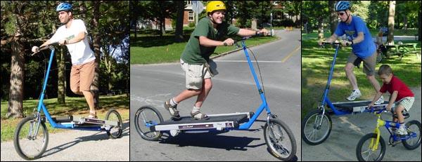 トレッドミルバイク