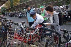 自転車盗被害