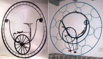 車輪内に車輪