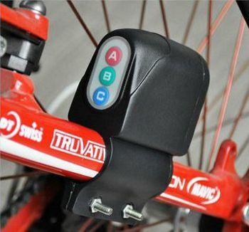 自転車用盗難防止アラーム