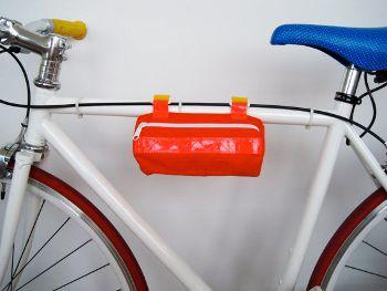 BEST Bicycle Bag Mini Barrel Velcro, www.etsy.com