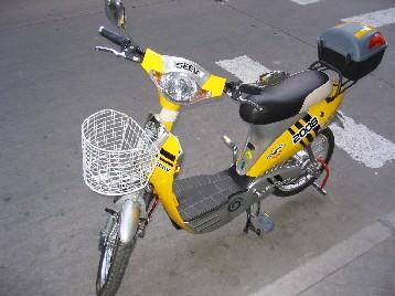 ミニバイクのスクーターかと..