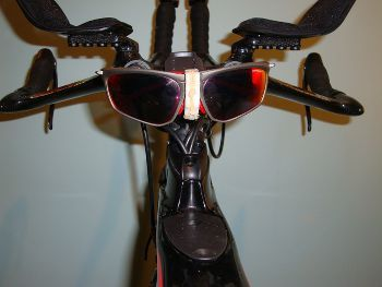 Bike Sunglass Holding Device