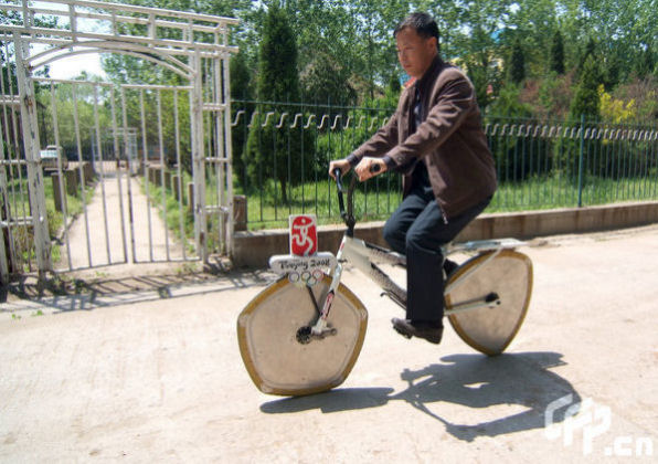 Image Multi-angle-wheel bicycle, www.china.org.cn