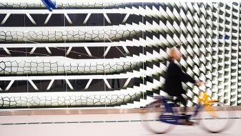 Ondergrondse fietsenstalling