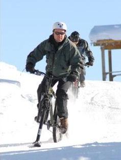 スノー自転車