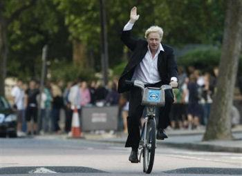 ロンドンのボリス・ジョンソン市長