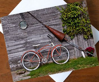 Orange Bicycle, www.etsy.com