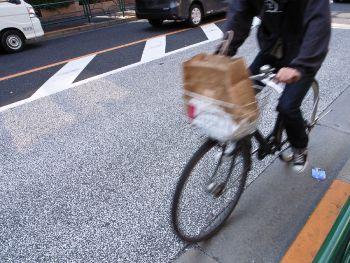 自転車は歩道で一方通行?