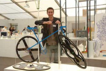 Folding Bicycle Wheel