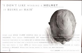 helmet or my hair
