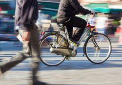 自転車事故急増