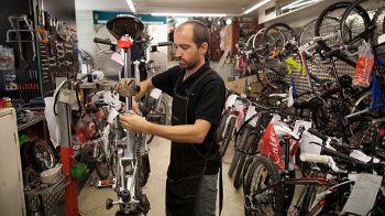 Bicycle sales