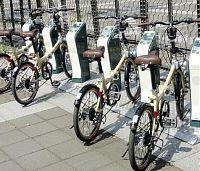 自転車シェアリングの社会実験