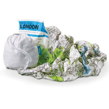 Crumpled City Maps, poketo.com