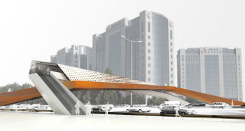 cross-wind bridge