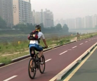ソウルの自転車道