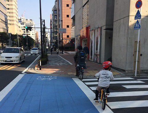 自転車走行路整備