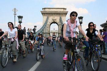 Critical Mass en Budapest