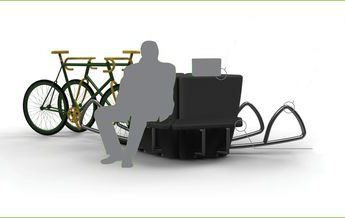 Planter Bike Rack, www.designbuzz.com
