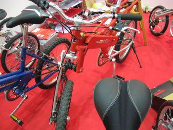 両輪駆動の自転車