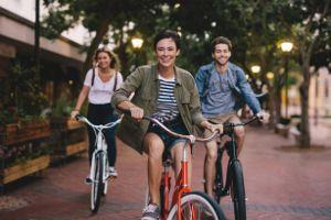 徒歩や自転車