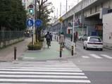 自転車道を設ける