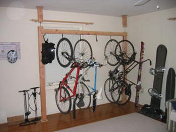 Multi-Bike Compression Super Rack