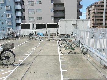 屋上駐輪場