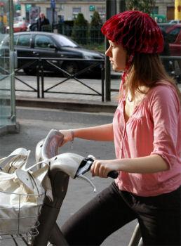 たためるヘルメット