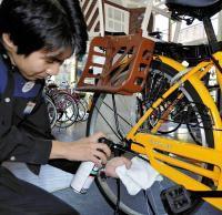 自転車を安全・快適に