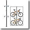 バイクの室内保管のスペース効率アップ