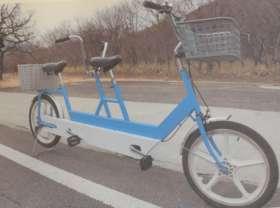 タンデム自転車OK