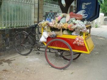 売店自転車