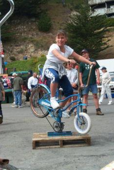 自転車ロデオ