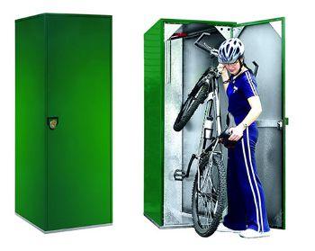 Vertical Bike Lockers