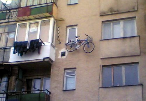 apartment bike storage