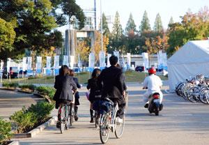 自転車も最低限のマナーを
