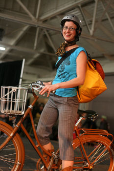SF Bike Expo Fashion Show. Photo by richardmasoner,licensed under the Creative Commons Attribution ShareAlike 3.0 Unported.