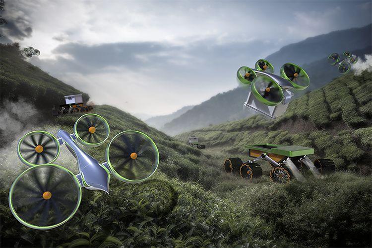 Cyclodrone, www.frogdesign.com
