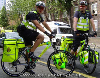 Ambulance Cycles, www.ukemergency.co.uk