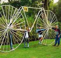 ビッグ自転車