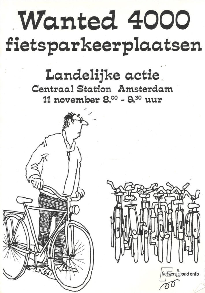 50 years of Dutch anti-car posters