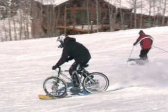 4D Snow Bike