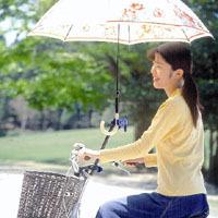 傘の固定装置
