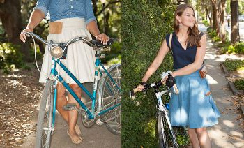 The Bicycle Wrap Skirt