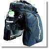容量を拡大できて安定するリアバッグ