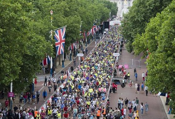 London shuts down as 50,000 cyclists take to the streets in mass bike event