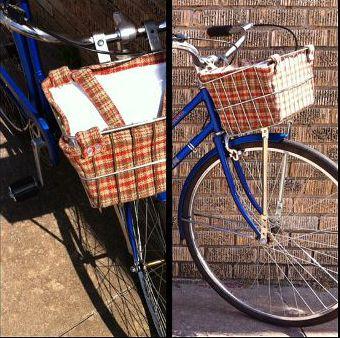 Front Bike Basket Shopping Bag, www.etsy.com