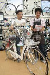 自転車よりクルマ?